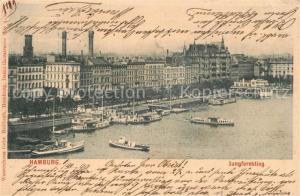 AK / Ansichtskarte Hamburg Jungfernstieg Hamburg