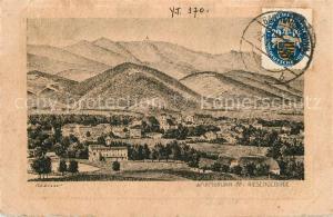 AK / Ansichtskarte Bad_Warmbrunn mit Riesengebirge Bad_Warmbrunn