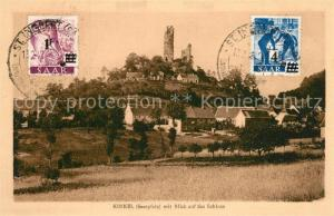 AK / Ansichtskarte Kirkel mit Schlossblick Kirkel