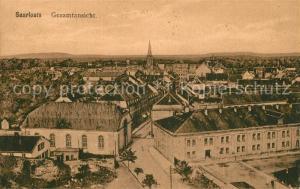 AK / Ansichtskarte Saarlouis Panorama Saarlouis