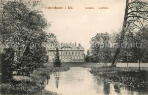 AK / Ansichtskarte Reichshofen_Elsass Schloss  Reichshofen Elsass