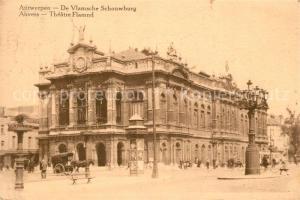 AK / Ansichtskarte Antwerpen_Anvers De Vlamsche Schonwburg Antwerpen Anvers