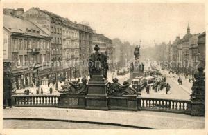 AK / Ansichtskarte Prag_Prahy_Prague Wenzelsplatz Prag_Prahy_Prague
