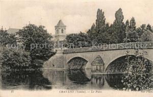 AK / Ansichtskarte Cravant_Yonne Pont Cravant Yonne