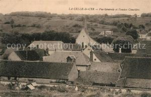 AK / Ansichtskarte La_Celle Saint Cyr Panorama ancien Cimetiere La_Celle Saint Cyr