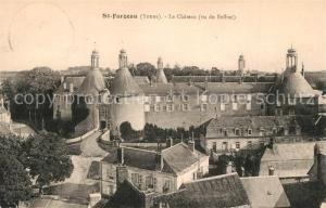 AK / Ansichtskarte Saint Fargeau_Yonne Chateau Saint Fargeau Yonne
