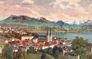 AK / Ansichtskarte Luzern_Vierwaldstaettersee Rigi Kirche Luzern_Vierwaldstaettersee