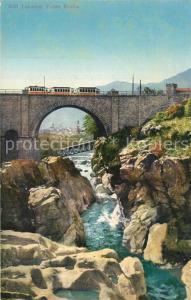 AK / Ansichtskarte Locarno_Lago_Maggiore Ponte Brolla Locarno_Lago_Maggiore