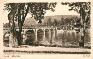 AK / Ansichtskarte Vernon_Ardeche Le Pont Vernon Ardeche