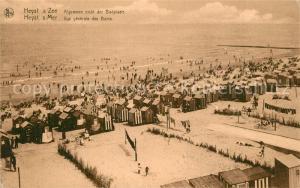 AK / Ansichtskarte Heyst sur Mer Algemee zicht der Badplaats Heyst sur mer