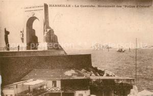 AK / Ansichtskarte Marseille_Bouches du Rhone Monument des Poilus d Orient Marseille