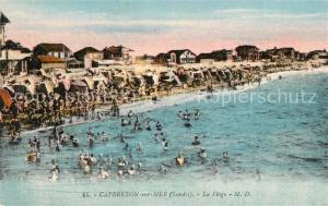 AK / Ansichtskarte Capbreton La plage
