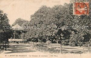 AK / Ansichtskarte Mont de Marsan Kiosque de musique Mont de Marsan