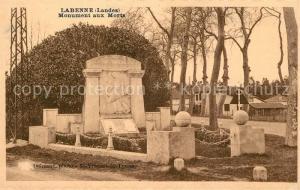 AK / Ansichtskarte Labenne Monument aux Morts Labenne