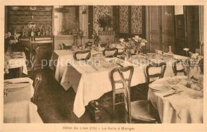 AK / Ansichtskarte Paris Hotel du Lion d Or Salle a manger Paris