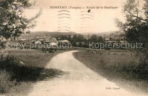 AK / Ansichtskarte Domremy la Pucelle_Vosges Route de la Basilique Domremy la Pucelle_Vosges