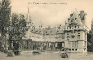 AK / Ansichtskarte Vigny_Val d_Oise Chateau cote ouest Vigny_Val d_Oise