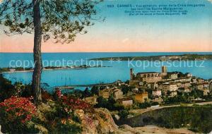 AK / Ansichtskarte Cannes_Alpes Maritimes Vue generale prise de la Croix des gardes  Cannes Alpes Maritimes