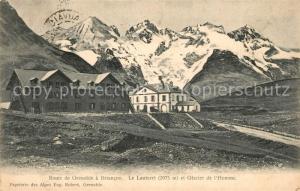 AK / Ansichtskarte Le_Lautaret et Glacier de l Homme Le_Lautaret