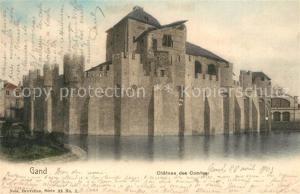 AK / Ansichtskarte Gand_Belgien Chateau des Comtes Gand Belgien