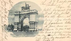 AK / Ansichtskarte Brooklyn_New_York Soldiers and Sailors Memorial Arch Brooklyn_New_York