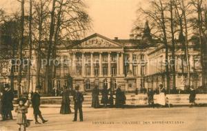 AK / Ansichtskarte Bruxelles_Bruessel Chambre des Representants Bruxelles_Bruessel