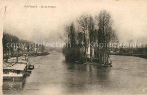 AK / Ansichtskarte Pontoise_Val d_Oise Ile du Pothuis