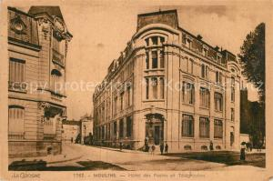 AK / Ansichtskarte Moulins_Allier Hotel des Postes et Telegraphes Moulins Allier