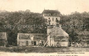 AK / Ansichtskarte Courtenay_Loiret Maison Ferme et Moulin de Liffert Courtenay Loiret