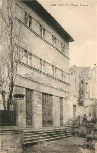 AK / Ansichtskarte Saint Gilles_Gard Maison Romane Saint Gilles_Gard