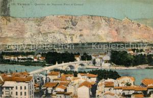 AK / Ansichtskarte Valence_Drome Quartier du nouveau Pont et Crussol Valence_Drome
