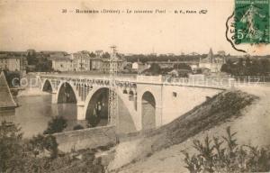 AK / Ansichtskarte Romans_Bourg_de_Peage Nouveau pont Romans_Bourg_de_Peage