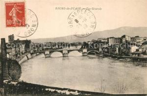 AK / Ansichtskarte Bourg de Peage Vue generale Pont sur la Drome Bourg de Peage