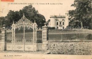 AK / Ansichtskarte La_Begude de Mazenc Chateau de M. Loubet et le parc La_Begude de Mazenc