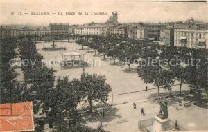 AK / Ansichtskarte Beziers Place de la Citadelle Beziers