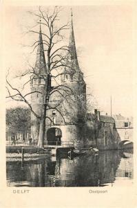 AK / Ansichtskarte Delft Oostpoort Delft