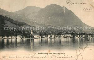 AK / Ansichtskarte Beckenried mit Buochserhorn Beckenried