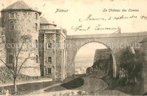 AK / Ansichtskarte Namur_sur_Meuse Le Chateau des Comtes Namur_sur_Meuse