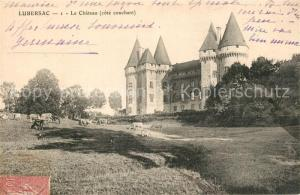 AK / Ansichtskarte Lubersac Le Chateau Lubersac