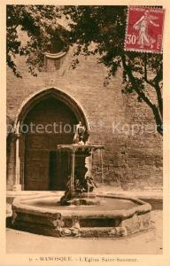 AK / Ansichtskarte Manosque Eglise Saint Sauveur Manosque