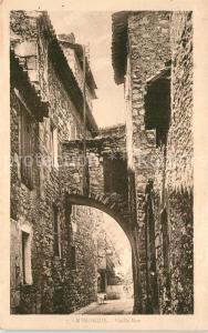 AK / Ansichtskarte Manosque Vieille Rue Manosque