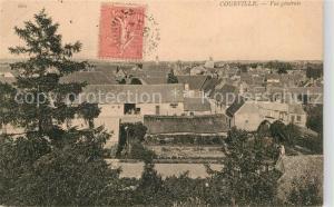AK / Ansichtskarte Courville sur Eure Vue generale Courville sur Eure