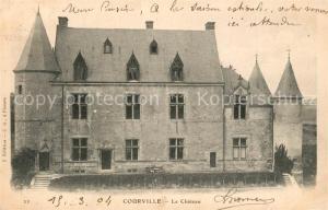 AK / Ansichtskarte Courville sur Eure Le Chateau Courville sur Eure