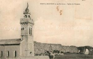 AK / Ansichtskarte Pont a Mousson et ses Environs Eglise de Mousson Pont a Mousson