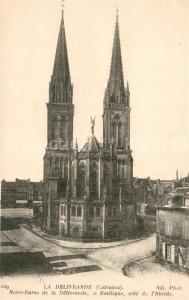 AK / Ansichtskarte La_Delivrande Eglise Notre Dame Basilique La_Delivrande