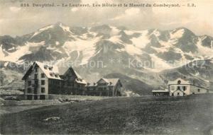 AK / Ansichtskarte Le_Lautaret Hotels et le Massif du Combeynot Alpes Le_Lautaret