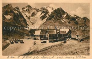 AK / Ansichtskarte Le_Lautaret Col du Lautaret Chalet et la Meije Alpes Le_Lautaret