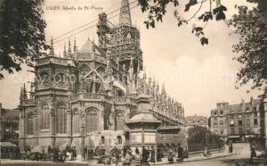 AK / Ansichtskarte Caen Abside de l Eglise Saint Pierre Caen