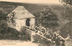 AK / Ansichtskarte Le_Faouet_Cotes d_Armor Chapelle Saint Michel Le_Faouet_Cotes d_Armor