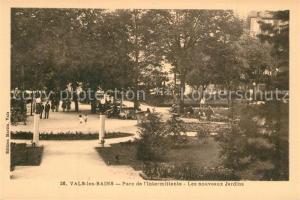 AK / Ansichtskarte Vals les Bains Parc de l Intermittente les nouveaux jardins Vals les Bains